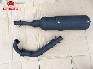 CFMOTO cf188 двигатель 500cc cf525 CF500-А CF625-3 X6 Z6 CF600 500cc 600cc ATV глушитель трубы квадратора выхлопной трубы AIJA #
