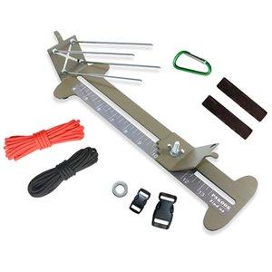 Отдых Туризм Новые обезьяны Кулак Jig и Paracord Jig Браслет Maker Paracord Tool Kit Регулируемая Металл ткачество DIY Craft Maker 4 \»