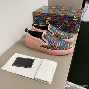 HOT New Frauen Casual Schuhe Fashion Show Sportschuhe Psychedelische Magie Springen Süßigkeit Serie Carrefour Slide-Druck-Kleid Schuhe Designe