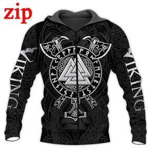PLstar Cosmos Tattoos 3D Hoodie zip Hoodies Men Women New Fashion Autumn Hooded Sweatshirt Long Sleeve Pullover 200923