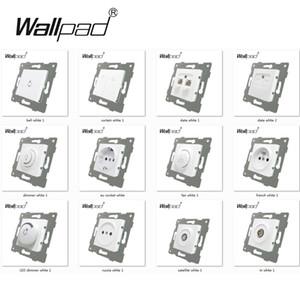 Wallpad L6 Serisi Montaj ile DIY AB İşlev Tuşu L6 için Modül Beyaz Düğme Anahtar ve Priz
