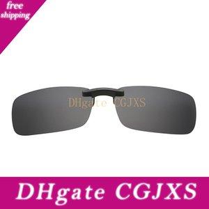 Ayaklı Stil Güneş UV400 Ayaklı Balıkçılık Gözlük Gece Görüş Sürücü Gözlüğü Güneş Camların Üstünde Erkekler Kadınlar Retro Polarize Klip