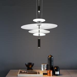 Nordic Style Acrylic Испания Дизайнер Ресторан Подвесные лампы Art Eagle Light Parlor Спальня Галерея Кафе светодиодные светильники