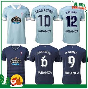 Hommes + Kit Kit Kit 2020 Celta de Vigo Jerseys Soccer Iago Aspas Santi Mina Boufal Chemises de football 20 21 Celta Uniforme Sisto RAFINHA HUGO MALLO