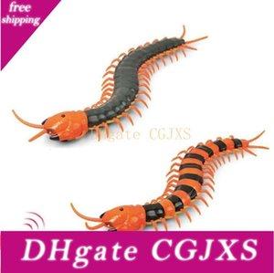 Remote Control Centipede Creepy -Crawly milípede remoto presente de aniversário de criança Abs Controle / Rc animal Prank engraçado Brinquedos Plástico Simulação