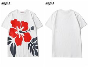 En Tee s-XL 447d # Yıkanmış 2020 palmiye Decapitated Ayı simgesi tasarımcısı kanye batı gevşek tişört erkekler kadınlar moda hip hop tişörtleri melekler