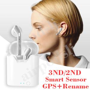 H1 yonga Pro Air kulaklık yeniden adlandır GPS Üst Ses Kalitesi Akıllı Sensör Kulaklık PK AP2 AP3 i12 i200 i500 TWS i9s bakla