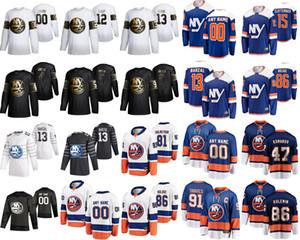 New York Islanders 2020 All-Star-Hockeyjerseys 44 Jean-Gabriel Pageau 4 Andy Greene Mathew Barzal Josh Bailey Cal Clutterbuck Benutzerdefinierte Stich