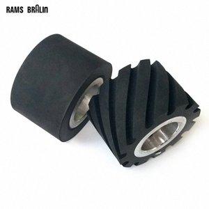 1 piece 75*50mm Rubber Contact Wheel Belt Grinder Backstand Idler o8b8#