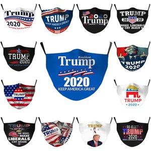 Máscaras elecciones Trump Joe Biden Cara americana elecciones reutilizables algodón anti Máscara anticontaminación reutilizable lavable Boca Cara