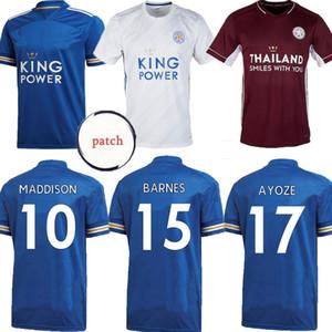 Leicester третьего футбола Джерси 20 21 футбола рубашка ГОРОД 2020 2021 бордовый Vardy Tielemans Camiseta де fútbol NDIDI МЭДДИСОН Ayoze Майо де