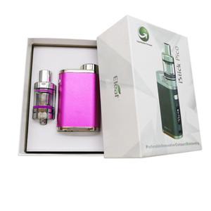 Новейший стартовый комплект Pico 75W 18650 TC MOD MELO 3 Мини-танк 5 цветов Vaporizer Vape Box Mod Cartridges Electronic Cigarette