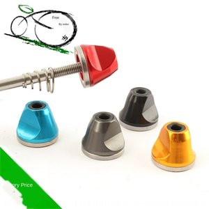 빠른 해체 자전거 자전거로드 M5 나사 미끄럼 방지 너트 산악 자전거는 모든 알루미늄 합금 너트 1Hokx 샤프트를 빠른 해체