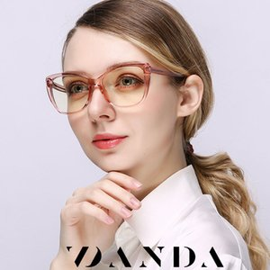 Glasses Women Cat Eye Lady Anti Blue Light Optical Frame TR90 Girl Eyeglasses Transparent AntI Reflective Gaming Glasses UV400