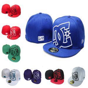 mens atacado bonés designer de chapéus de basebol clássico fullclosed chapéu equipada equipa Embroiered DC fãs logotipo do basebol cartola
