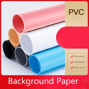 Solid Color fotográfica Backdrop 50 * 50 centímetros Fotografia backdrop pano impermeável Dustproof Anti-rugas para Photo Stud