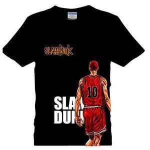 Anime SLAM DUNK Cotton Summer T shirt Fashion XXXL Short Sleeve tshirt Casual Wear Tops Cosplay Tee shirt Free Shipping 0924