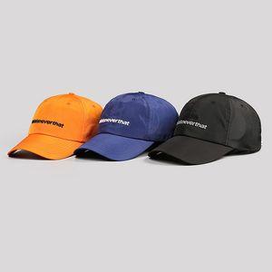 Thisisneverthat Embroidery Nylon Baseball Cap For Men Women Beach Sun Hats Snapback Trucker Cap Dad Hat Hip Hop Golf Visor Adjustable Summer