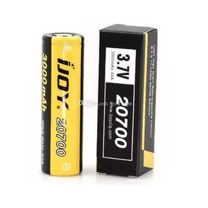 Authentic IJOY 20700 Battery 3000mah 40A Rechargeable Batteries For Samsung 25R 30Q 3400mah Vapor Fedex Free Shipping