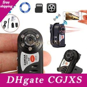 Q7 Mini Wifi DVR IP inalámbrico video de la videocámara Q7 cámara de infrarrojos de visión nocturna cámara de detección de movimiento, construido -En micrófono