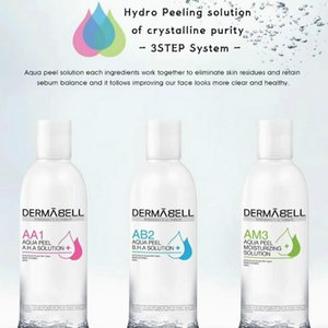 Pele AA1 AB2 AM3 do Aqua Peeling Solution 400ml por garrafa Hydra dermoabrasão Serum Facial Cleansing For Normal