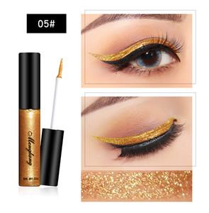 Großhandel Eyeliner Flüssigkeit Bleistift hohe Qualität 6 ml flüssiges Gel Eyeliner Großhandel Glitzern flüssige Eyeliner setzen OEM angepasstes Logo