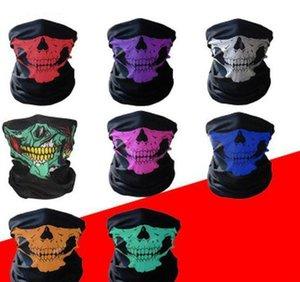 Masque Masques Polyvalent haute Foulard Costumes Crâne Halloween randonnée à vélo Magic Face sans soudure extérieure Réchauffez écharpe home2009 gpDdw