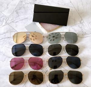 2020 New Arrival Round Sunglasses Retro Men women Design Sunglasses Vintage Coating Mirrored UV400 HER SIZE:60-13-145mm