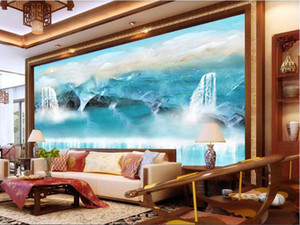 Bacal 3d stereo wallpaper mural landscape seascape reef cave wall paper for kids room background 3D wall papers home decor