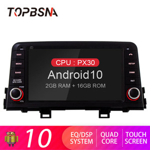 TOPBSNA Android 10 Car DVD Player For KIA PICANTO MORNING 2020 2020 2 Din Car Radio GPS Navigation Audio Stereo Headunit USB RDS