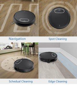 Робот пылесос APP управления WiFi развертки мокрой шваброй планирования ковер чистый автомобиль WATERTANK немецкий навигации