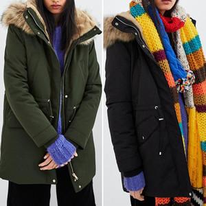 Designer Coats Thickened Warm Long Fleece Coats Womens Fashion Loose Fluffy Hooded Coats Autumn Winter Womens