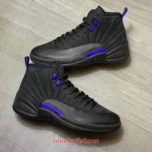 scarpe jorden 12 scuro Concord CT8013-005 nero viola delle donne degli uomini per la vendita dimensioni Pallacanestro negozio di scarpe US4-US13