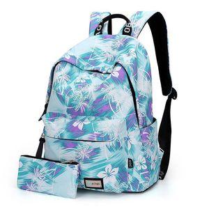 Дизайнер-2019 Женщина Рюкзак для школы Подростки Девушки в стиле ретро Стильная школа сумки дама рюкзак Женского фиолетовое Back Pack Высокого качества