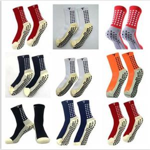 Mix Sipariş 2019/20 Satış Futbol Çorap Kaymaz Futbol Trusox Çorap Erkek Futbol Çorap Kaliteli Pamuk Calcetines ile Trusox
