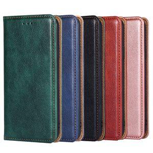 Luxury Wallet for Samsung S20 S11 S10 S10E S10(5G) S9 S8 S7 S6 plus core color mobile phone case card flip wallet PU leather case flip Cover