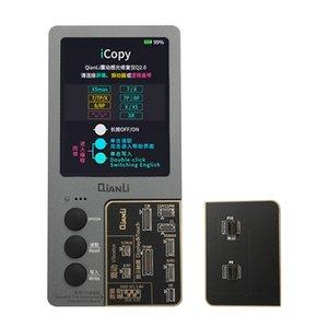Schermo LCD Qianli iCopy più originale True Color programmatore tono di riparazione per iPhone XR XSMAX XS 8P 8 7P 7 Vibrazioni / Touch di riparazione