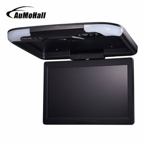 "AuMoHall 13"" inç Araç Monitör LED Dijital Ekran Araç Çatı Monitör Tavan Monitor Atlı, Flip Aşağı 2cu7 #"