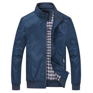 Otoño-Men Jacket Abrigo bombardero chaquetas para hombre casual al aire libre rompevientos abrigo jaqueta masculina veste homme ropa de la marca más 6XL