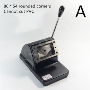 1PC مصنع مخصص الثقيلة كتر يموت لقطع ورقة ورقة بطاقة PVC القاطع صورة القاطع يموت 86 تقريب * 54 MM CORNE