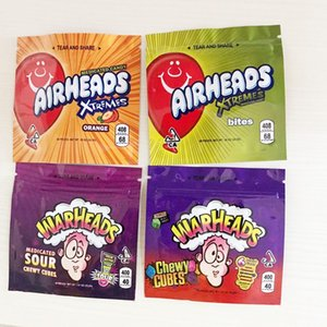 Vacíos medicado ojivas Airheads Xtremes Starburst Sour Gummies Bolos medicado caramelo bolsas de embalaje del envío libre de DHL