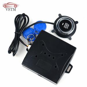 2020 Oto Oto Alarm One Start Stop Motor Starline Düğmesi RFID Kilit Kontak Anahtarı Anahtarsız Giriş Başlangıç Hırsızlığa karşı Sistemi