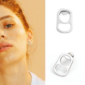Ce2VS Pop tarzı tasarım anlayışı Sokak kişilik moda küpe kadın mizaç şık niş küpe earringsring Çekme halkasını ve indirebiliriz