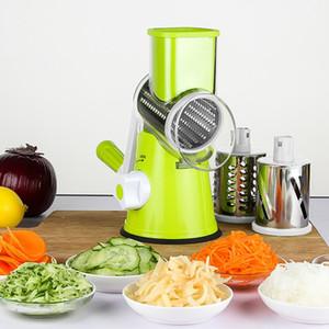 Многофункциональная роторной терка растительного тертого картофеля машин растительного теркя ручной капуста инструмент кухня нож кухонного