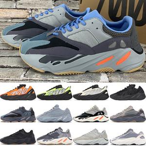 koşu ayakkabıları 700 kanye batı v1 v2 MNVN erkek Teal karbon mavisi Turuncu üçlü siyah Vanta OG Katı Gri erkekler kadınlar Sneakers yansıtıcı