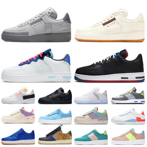 zapatos nike air force 1 shadow n354 af1 off white zapatos para correr gris niebla vela plataforma de goma reaccionar light bone usa zapatillas de deporte para hombre