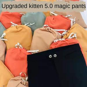 Pmjr4 des points noirs magiques usure externe des leggings femmes Kitten 5,0 printemps et d'automne neuf amincissants nouveau pantalon crayon maigre mince pantalon de crayon