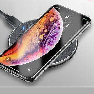 10w Fast Wireless Charger Smart Charging Qi Charging Pad For Samsung Mobile Phone Chargers, Fast Charging For Apple Android Samsung 10w Smar