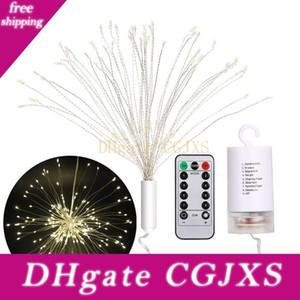 120 Led Bouquet Form Feuerwerk-Fee-Schnur-Licht Aa Batteriebetriebene Diy Dekoration Feuerwerk-Licht für Weihnachten