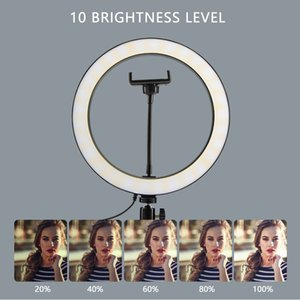 Photography Lighting with Tripod Stand Camera Photo Studio Circle Led Selfie Ring Light Phone Lamp for Video TikTok Youtube Set